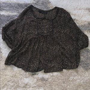 EUC Patterson J Kinkaid blouse size S